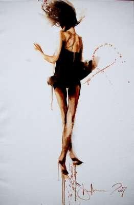 Igor Shulman Artwork / 2007 year Album / Butterfly - 100x70 sm
