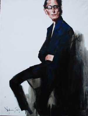 Igor Shulman Artwork / 2007 year Album / Mark - 100x100 sm