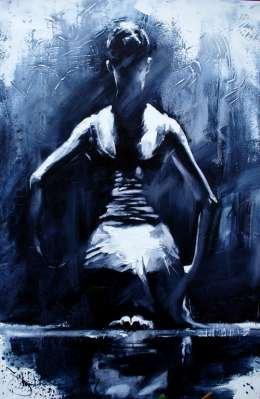 Igor Shulman Artwork / 2007 year Album / The Ballet (Pause)- 100x70 sm