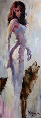 Igor Shulman Artwork / 2007 year Album / With Woolf - 180x60 sm