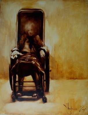 Igor Shulman Artwork / 2008 year Album / Aunt Raya - 100x70 sm