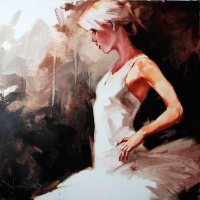 Igor Shulman Artwork / 2008 year Album / Ballet -100x100 sm