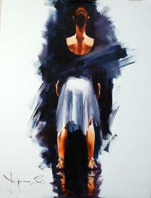 Igor Shulman Artwork / 2008 year Album / Ballet 2 (Start) - 120x90 sm