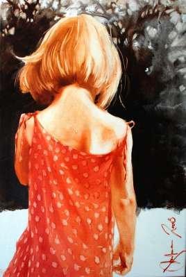 Igor Shulman Artwork / 2008 year Album / Childhood - 70x70 sm