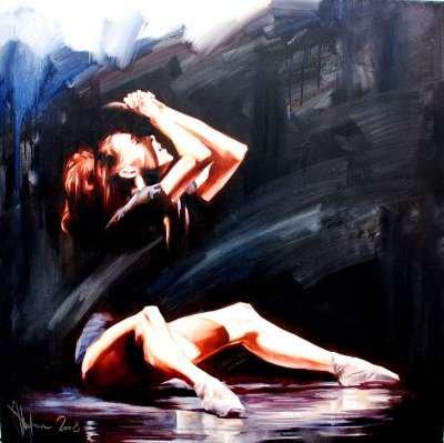 Igor Shulman Artwork / 2008 year Album / Dances Final - 100x100 sm