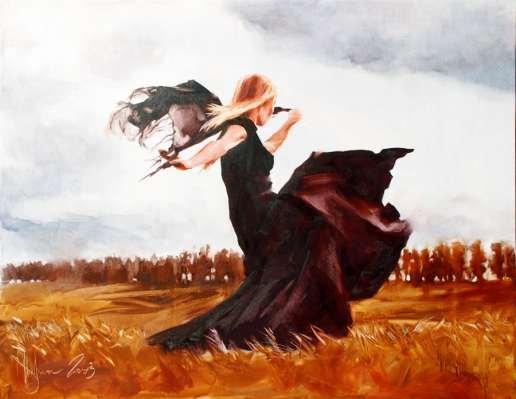 Igor Shulman Artwork / 2008 year Album / Dancing in the Fields - 90x120 sm
