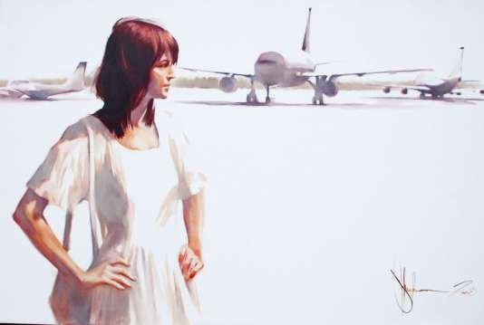 Igor Shulman Artwork / 2008 year Album / Emigration 1989 - 120x160 sm
