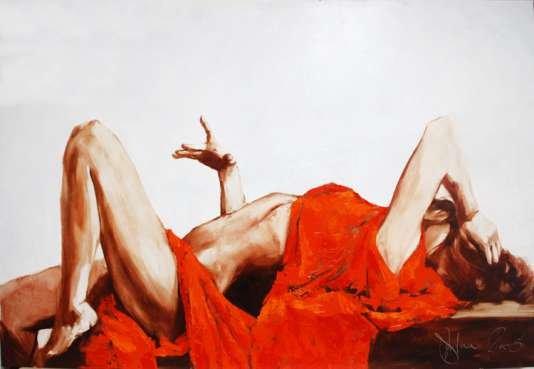 Igor Shulman Artwork / 2008 year Album / Kleopatra - 90x120 sm