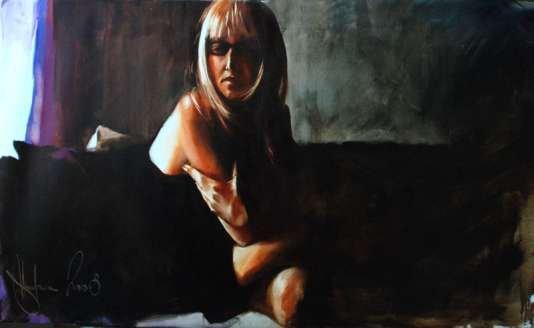 Igor Shulman Artwork / 2008 year Album / Lariska - 70x100 sm