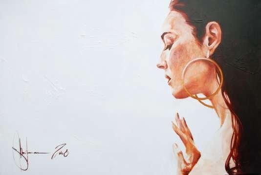 Igor Shulman Artwork / 2008 year Album / Monica Bellucci - 70x100 sm