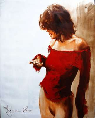 Igor Shulman Artwork / 2008 year Album / Morning SMS -100x70 sm
