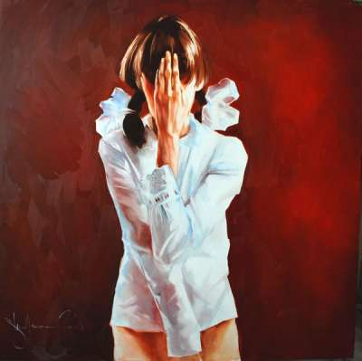 Igor Shulman Artwork / 2008 year Album / Shame - 100x100 sm