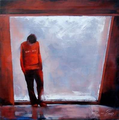 Igor Shulman Artwork / 2009 year Album /  Comes - 80x80 sm
