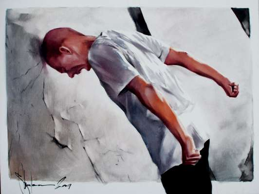 Igor Shulman Artwork / 2009 year Album / Crisis - 70x100 sm
