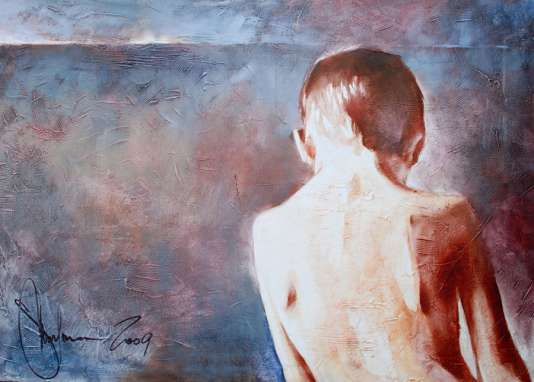 Igor Shulman Artwork / 2009 year Album / Happy Childhood - 70x100 sm