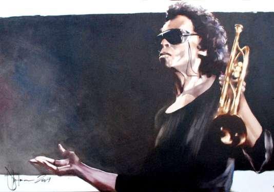 Igor Shulman Artwork / 2009 year Album / Jazz - 70x100 sm
