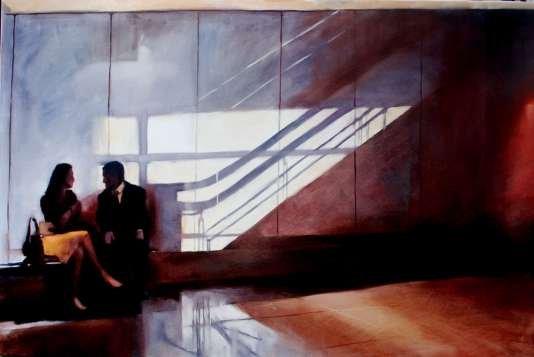 Igor Shulman Artwork / 2009 year Album / Last Meeting - 70x100 sm