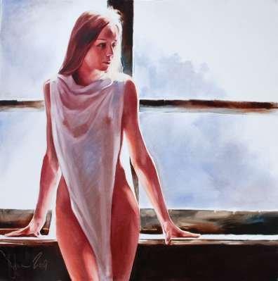Igor Shulman Artwork / 2009 year Album / Nika - 100x100 sm