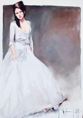 Igor Shulman Artwork / 2009 year Album / The Bride -100x70 sm