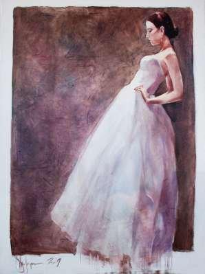 Igor Shulman Artwork / 2009 year Album / The Bride - 120x90 sm