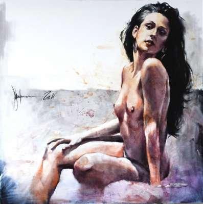 Igor Shulman Artwork / 2010 year Album / Akt №31 - 100x100 sm