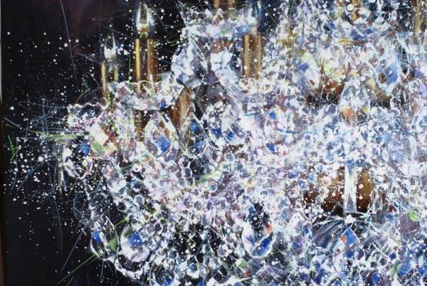 Chandelier #5. Shining artwork by Igor Shulman #artist