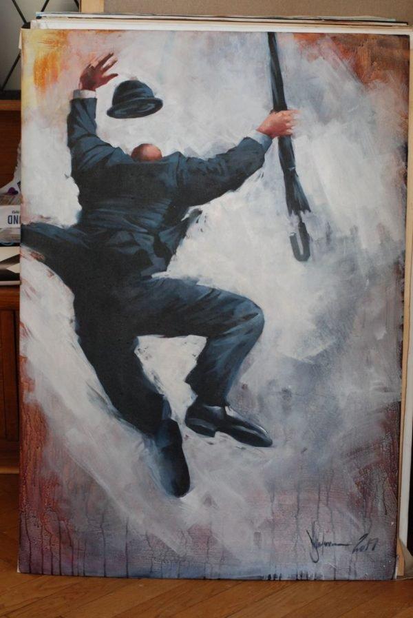 Commission for Fleur original painting by Igor Shulman