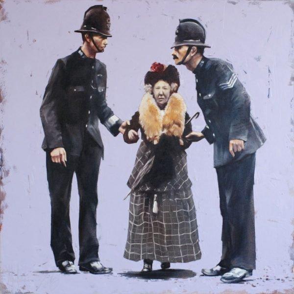 Dangerous Job original painting by Igor Shulman