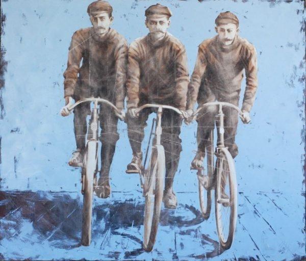 Dream team original painting by Igor Shulman