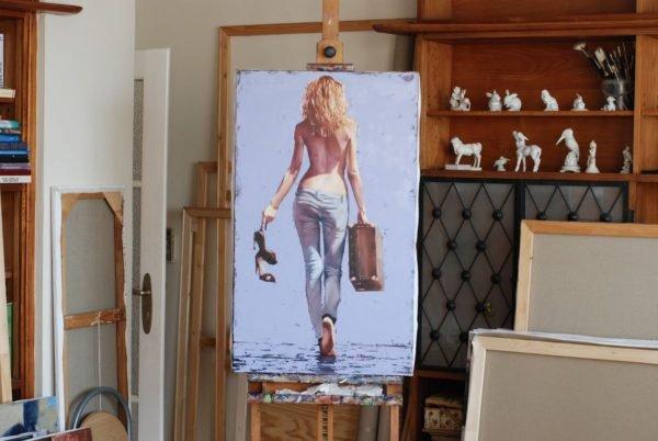Homecominig artwork by Igor Shulman #artist