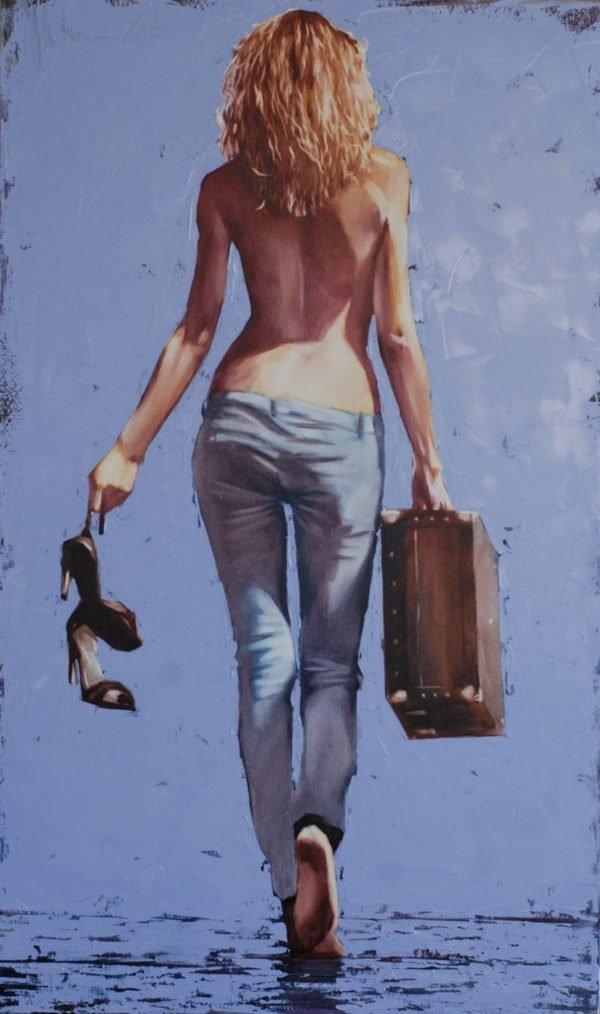 Homecominig original painting by Igor Shulman