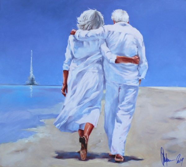 Last Walk original painting by Igor Shulman