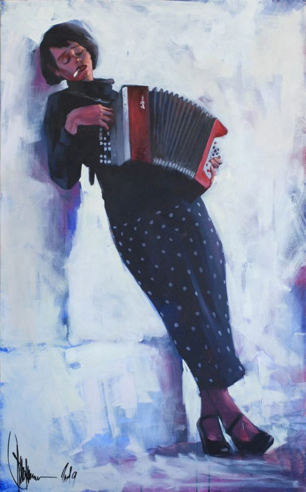 Serenade at Sunset original painting by Igor Shulman