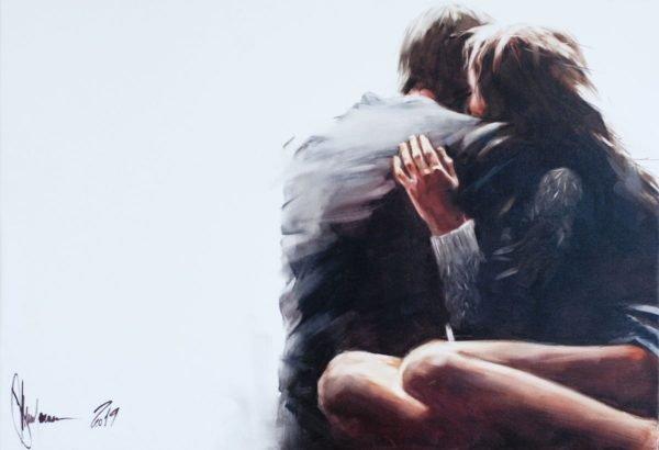 Pleasant Circumstances original oil painting on canvas by Igor Shulman