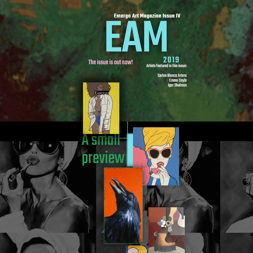 Emergo Art Magazine issue IV and Igor Shulman artist