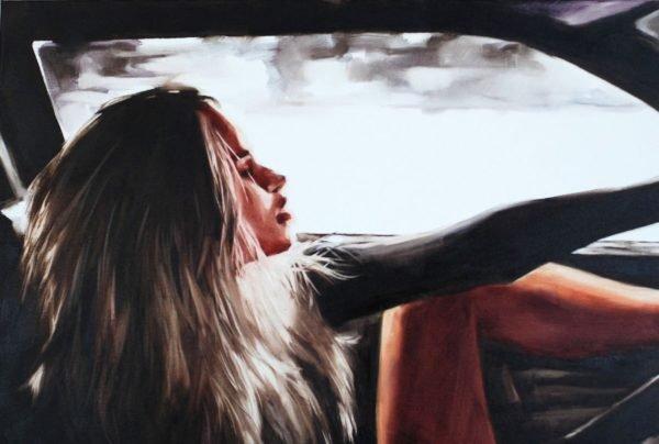 Riding without Brakes artwork by Igor Shulman #artist