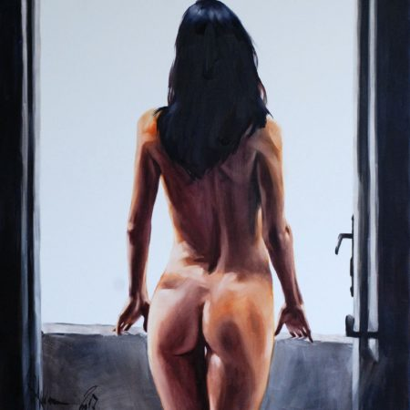 """""""Another Reality"""": remastering of the painting for the customer"""