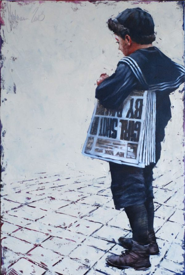 The Seller of Newspapers