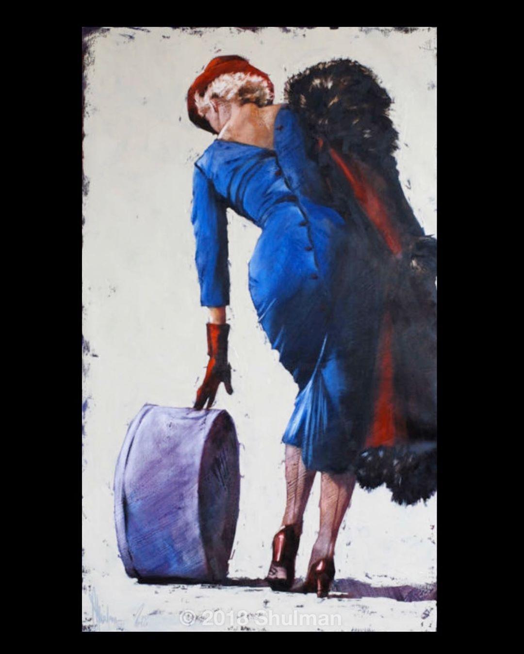 Moving art work in social