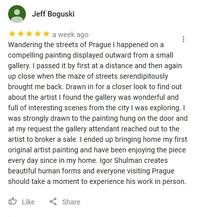 Jeff Boguski Feedback