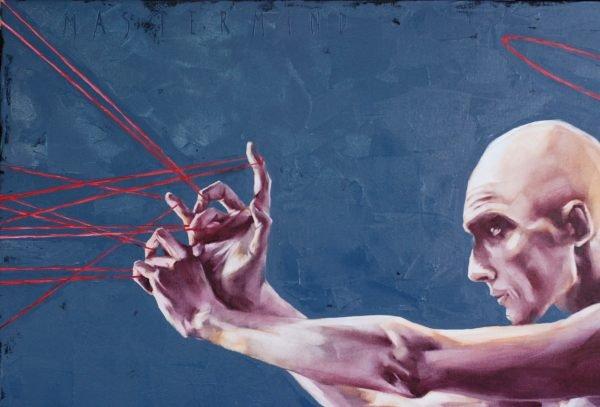 Mastermind. (2021) Oil painting by Igor Shulman