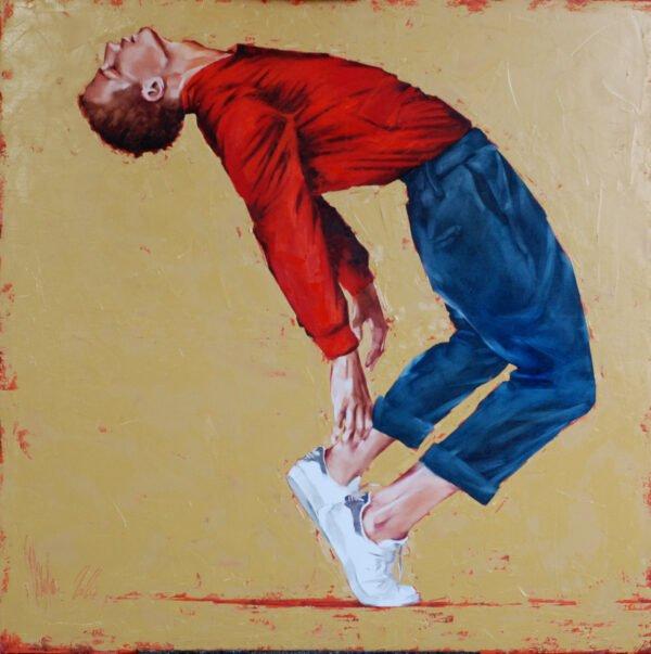 Street dancer 5 (2020) Oil Painting