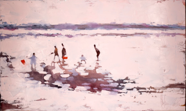 Sun, sea, summer. Painting by Igor Shulman