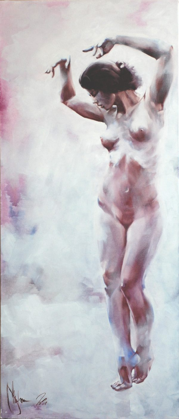 Muse oil painting by Igor Shulman. 2021