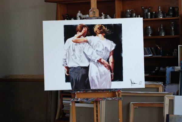 My Parents (2021) Oil Painting by Igor Shulman