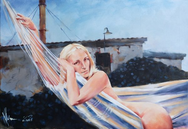 Stokers Wife oil painting by Igor Shulman