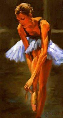 The Ballet Serie Oil paintings