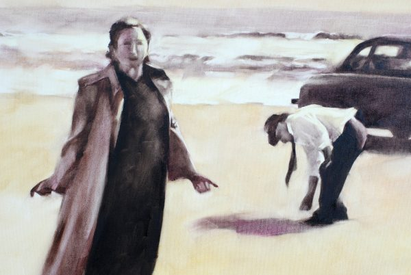 An unscheduled Visit to the East Coast Oil Painting