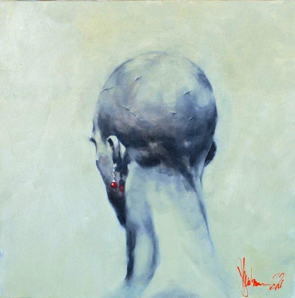 Hero's Head Oil Painting