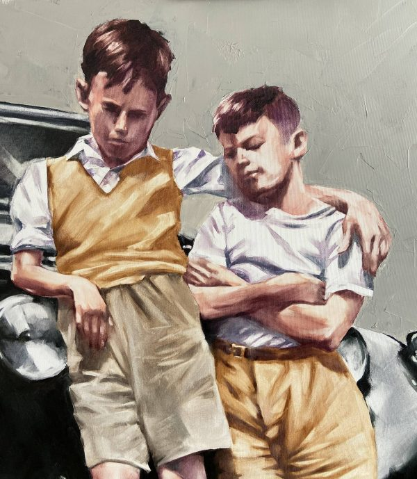 Oil Painting Brothers Remastering by Igor Shulman